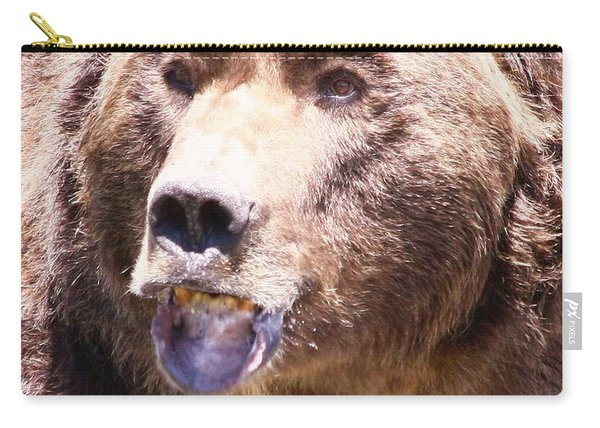 Bearing My Teeth Carry-all Pouch