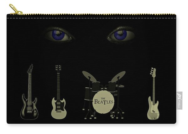 Beatles Something Carry-all Pouch