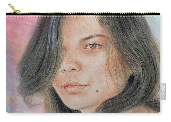 Beautiful And Sexy Actress Jeananne Goossen Iv Altered Version Carry-all Pouch