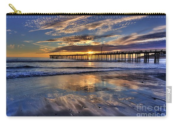 Beautiful Cayucos Carry-all Pouch