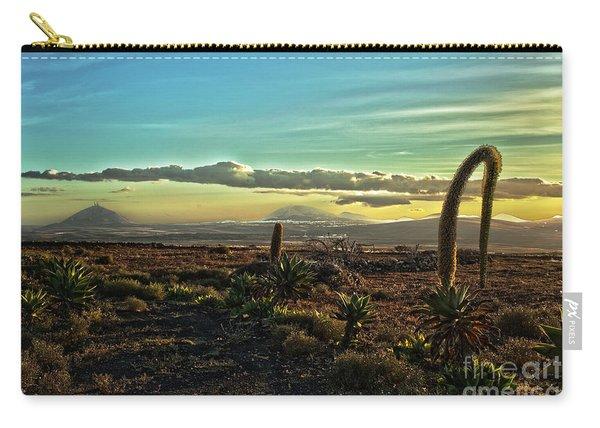 Beautiful Desert Landscape Carry-all Pouch