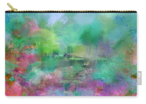 Beautiful Giverny Carry-all Pouch