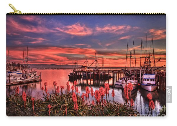 Beautiful Harbor Carry-all Pouch