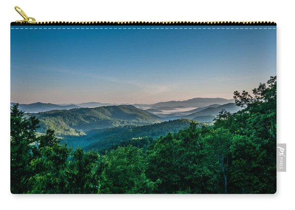 Beautiful Scenery From Crowders Mountain In North Carolina Carry-all Pouch