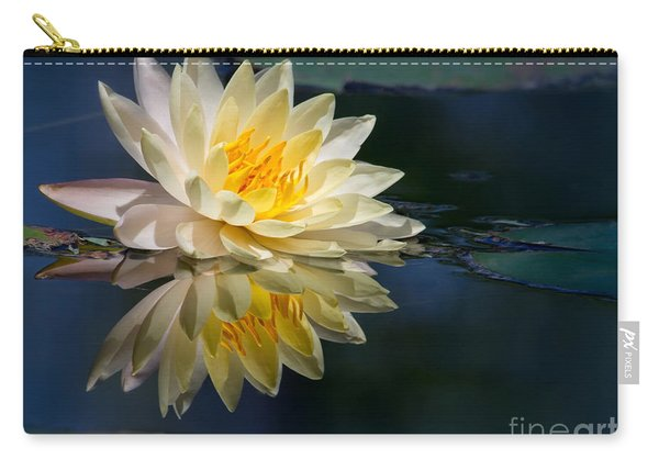 Beautiful Water Lily Reflection Carry-all Pouch
