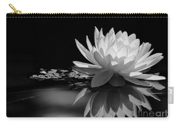 Beautiful Water Lily Reflections Carry-all Pouch