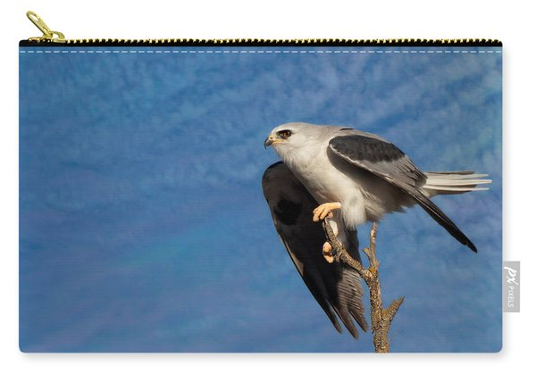 Beautiful White-tailed Kite Carry-all Pouch