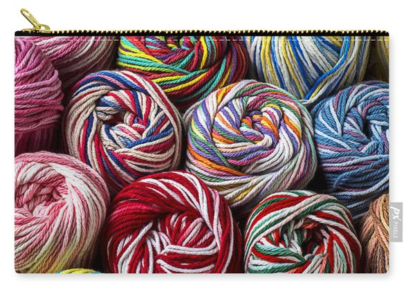 Beautiful Yarn Carry-all Pouch