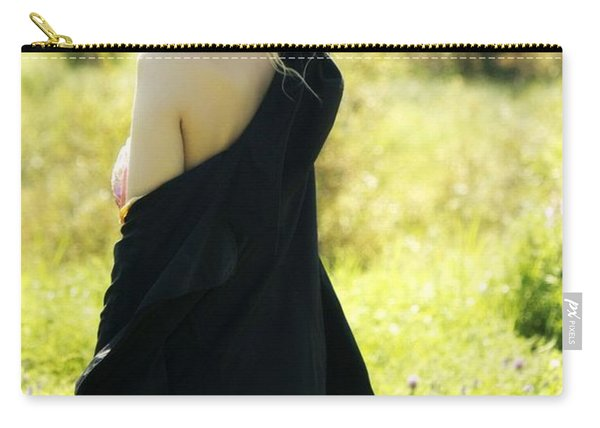 A Romantic Beauty Carry-all Pouch
