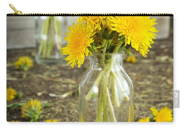 Beauty Among The Weeds Carry-all Pouch
