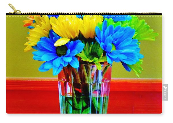 Beauty In A Vase Carry-all Pouch