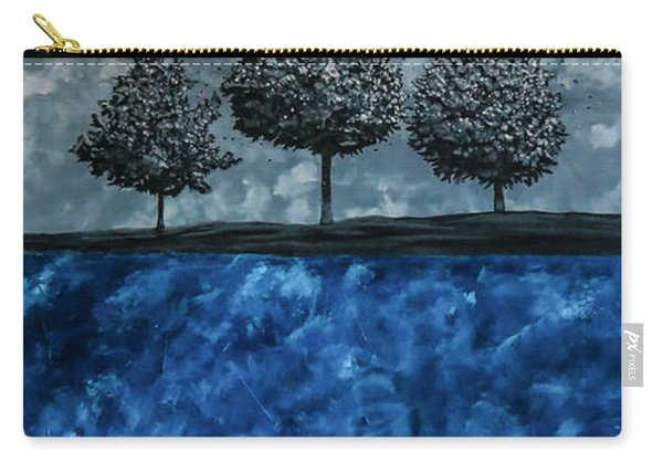 Carry-all Pouch featuring the painting Beauty In The Breakdown by Joel Tesch