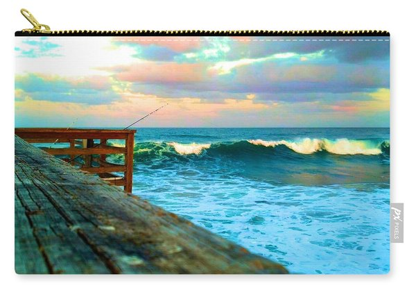 Beauty Of The Pier Carry-all Pouch