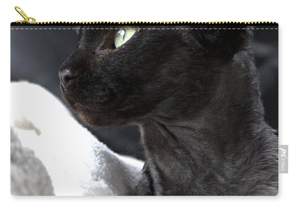 Beauty Of The Rex Cat Carry-all Pouch