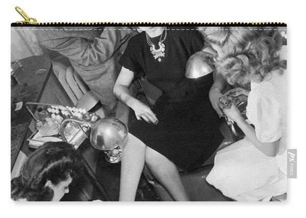 Beauty Salon Glamorizing Carry-all Pouch