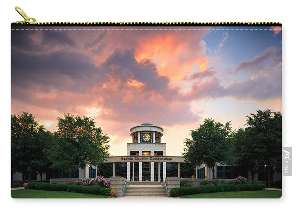 Beaver County Courthouse Carry-all Pouch