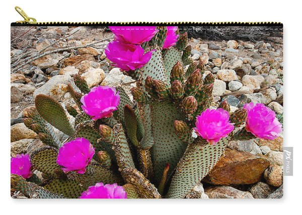 Beavertail Blooms Carry-all Pouch