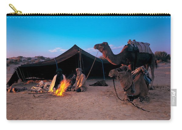 Bedouin Camp, Tunisia, Africa Carry-all Pouch