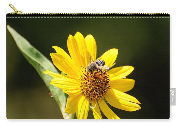Bee Flower Carry-all Pouch