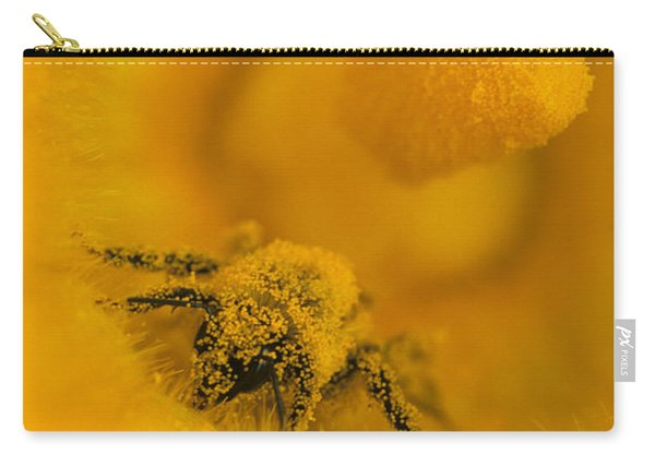 Bee In Pollen Carry-all Pouch
