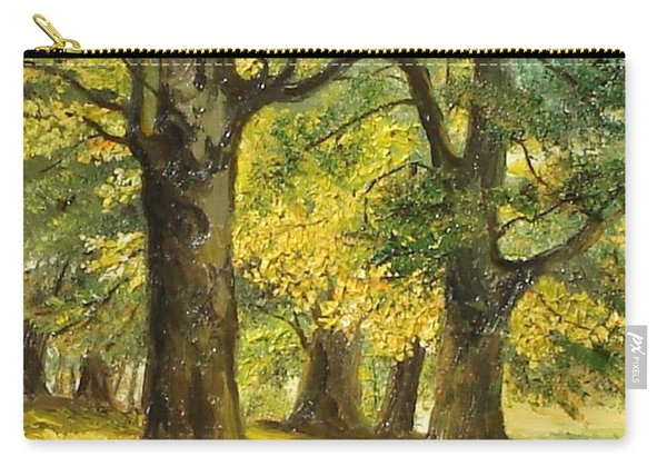 Beeches In The Park Carry-all Pouch
