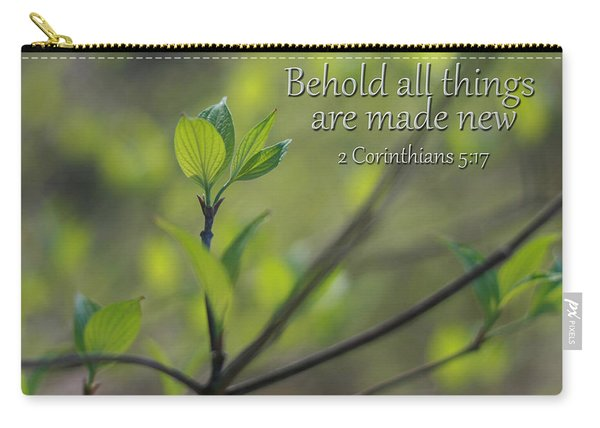 Behold All Things Are New Carry-all Pouch