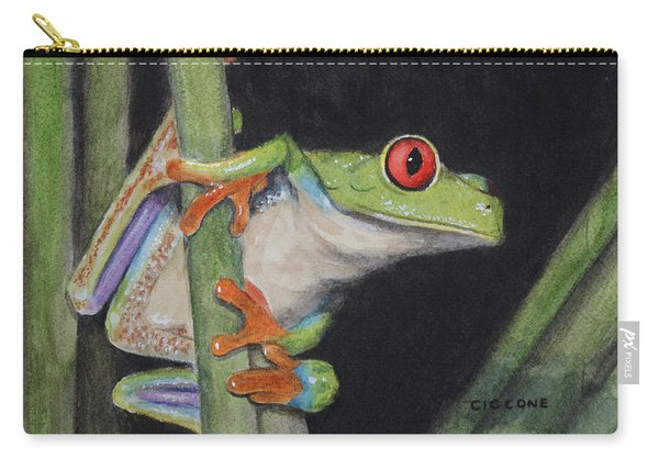Being Green Carry-all Pouch