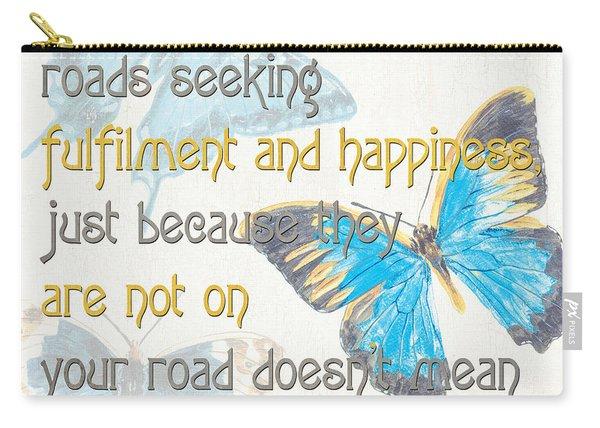 Bella Butterflies 2 Carry-all Pouch