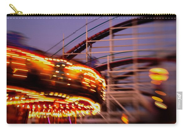 Did I Dream It Belmont Park Rollercoaster Carry-all Pouch