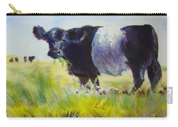 Belted Galloway Cow Carry-all Pouch