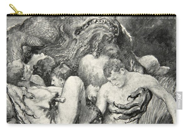 Beowulf Print Carry-all Pouch