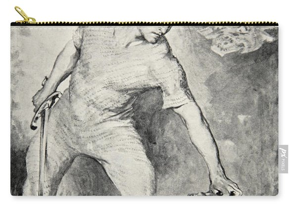 Beowulf Shears Off The Head Of Grendel Carry-all Pouch