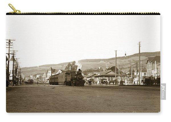 Berkeley California Train Station Circa 1902 Carry-all Pouch