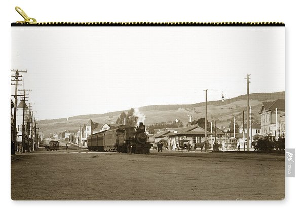 Berkeley California Train Station Circa 1902 Carry-all Pouch