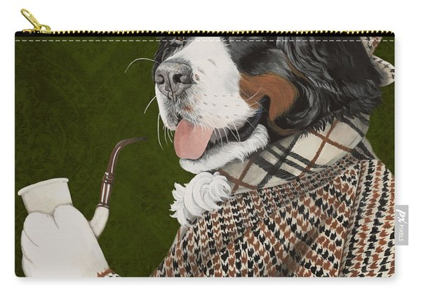 Berner Of The Baskerville Carry-all Pouch