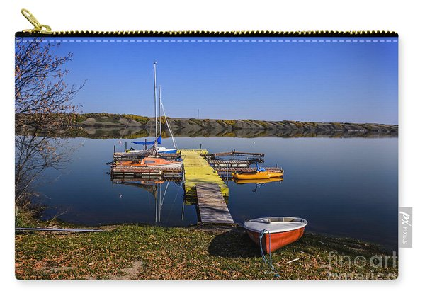 Berth For Yachts At Manitou Lake Carry-all Pouch