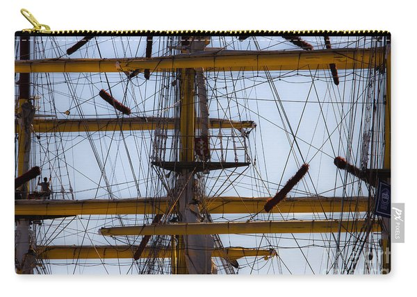 Between Masts And Ropes Carry-all Pouch