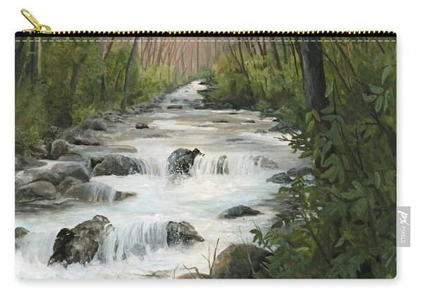 Beyond Troubled Waters Carry-all Pouch