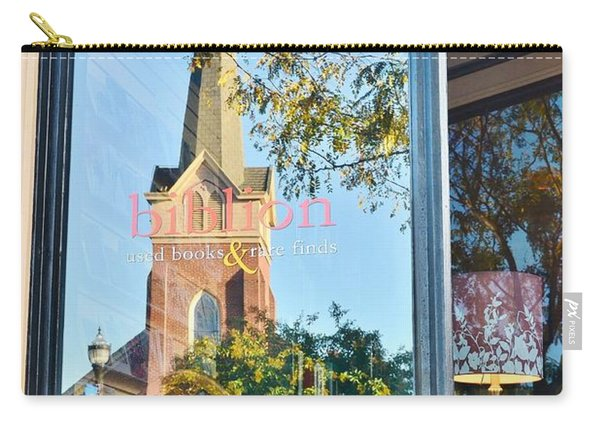 Biblion Used Books Reflections 3 - Lewes Delaware Carry-all Pouch