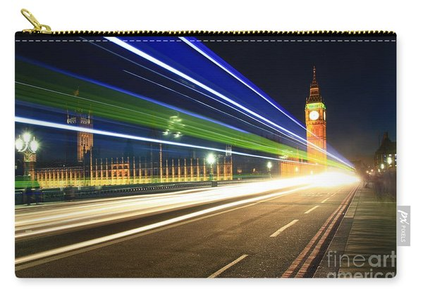 Big Ben And A Bus Carry-all Pouch