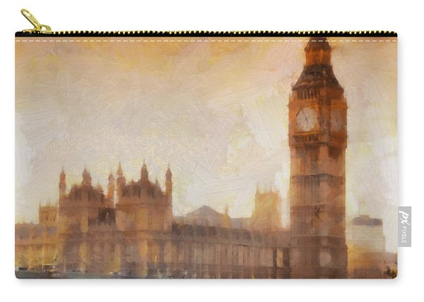 Big Ben At Dusk Carry-all Pouch
