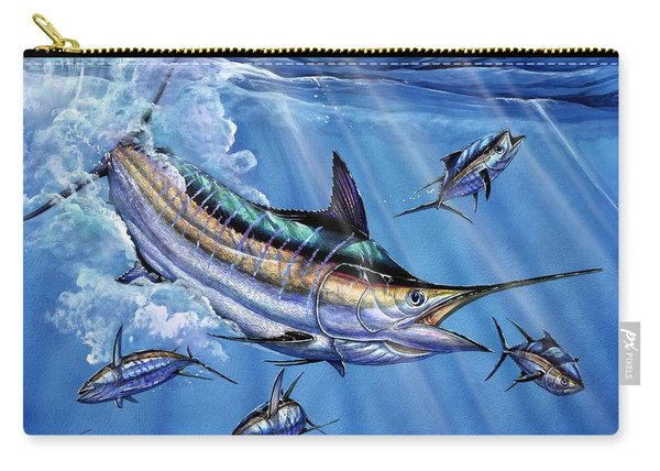 Big Blue And Tuna Carry-all Pouch