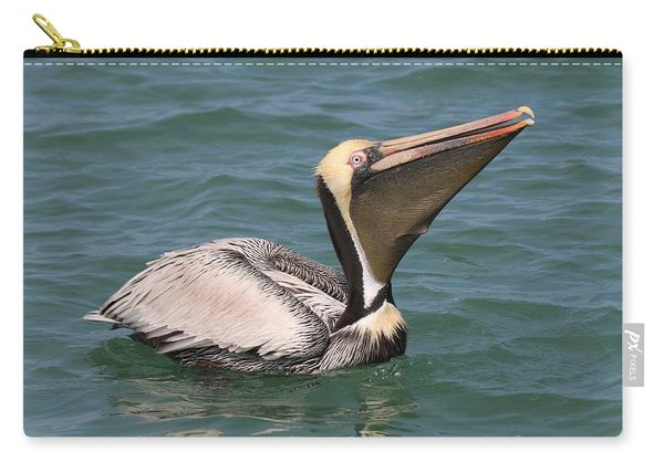 Carry-all Pouch featuring the photograph Big Gulp  by Christy Pooschke
