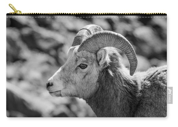 Big Horn Sheep Profile Carry-all Pouch