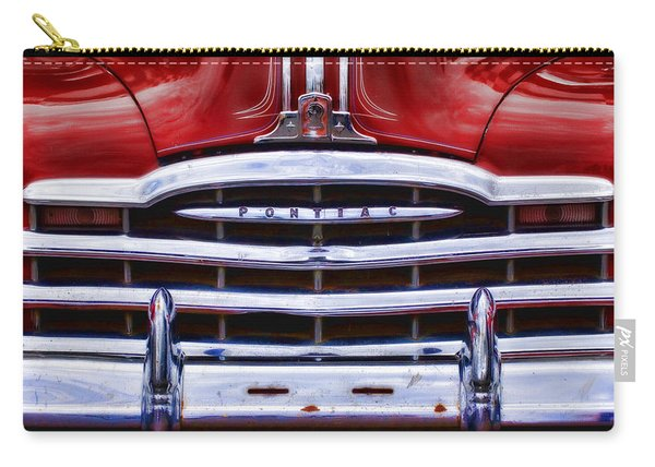 Big Red Pontiac Carry-all Pouch