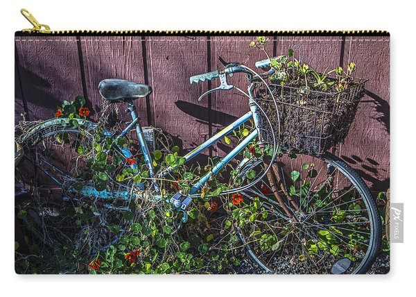 Bike In The Vines Carry-all Pouch
