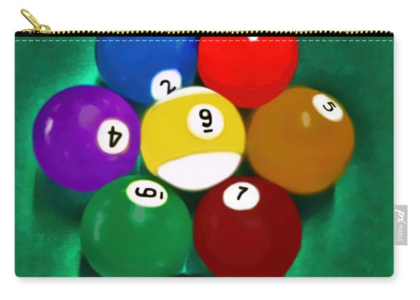 Billiards Art - Your Break 1 Carry-all Pouch