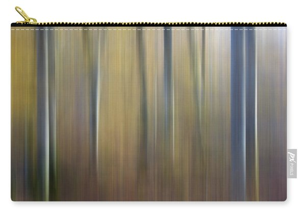Birch Trees. Abstract. Blurred Carry-all Pouch