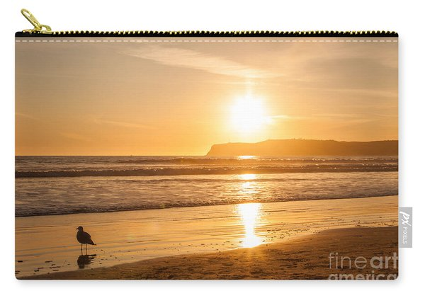 Bird And His Sunset Carry-all Pouch