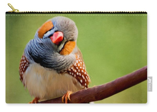 Bird Art - Change Your Opinions Carry-all Pouch